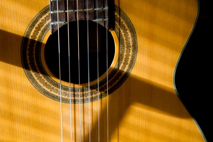 music industry guitar blockchain