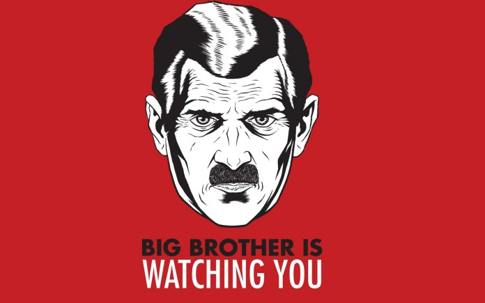 1984 Big Brother Is Watching You