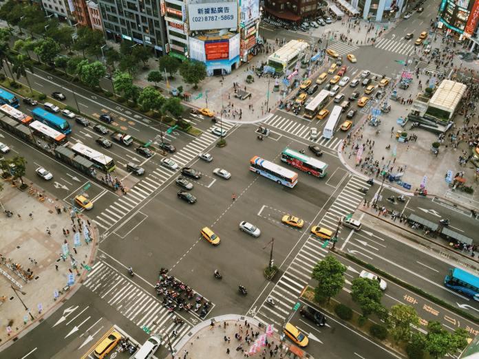street crossroad