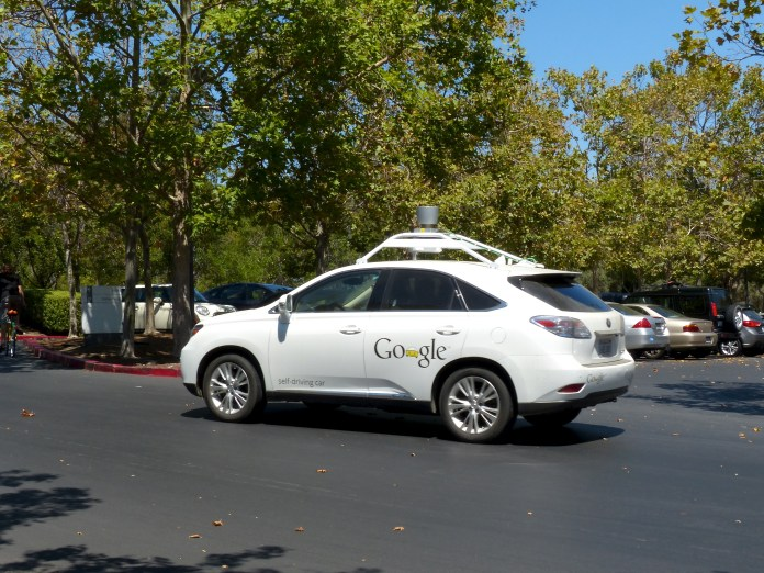 Google self-driving cra