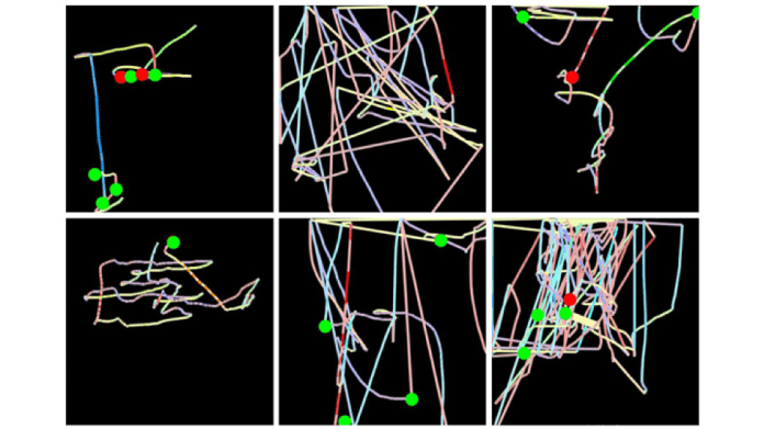 deep learning fraud detection mouse movements