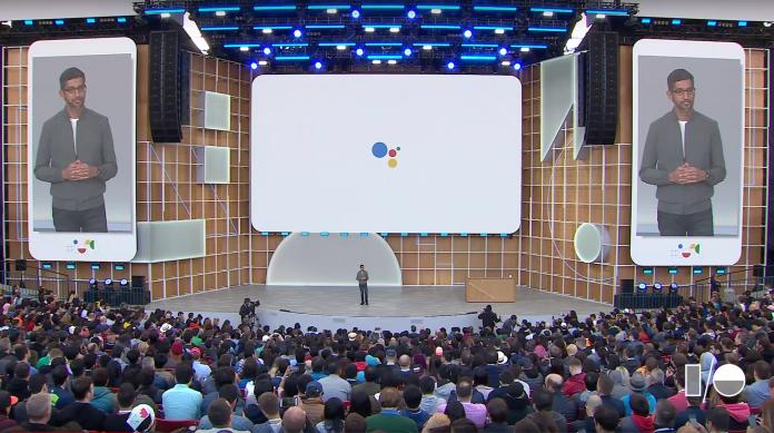 Google Assistant Sundar Pichai IO 2019