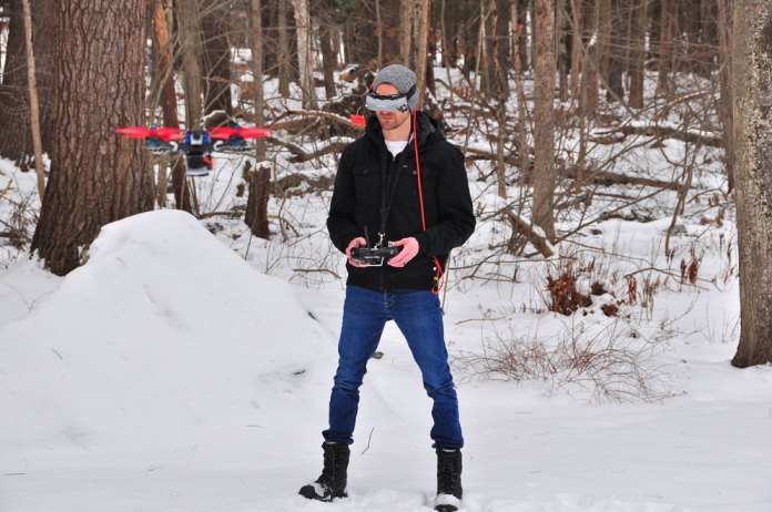 William Koch Boston University neuroflight artificial intelligence drone contoller