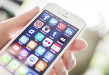 social media mobile app icons