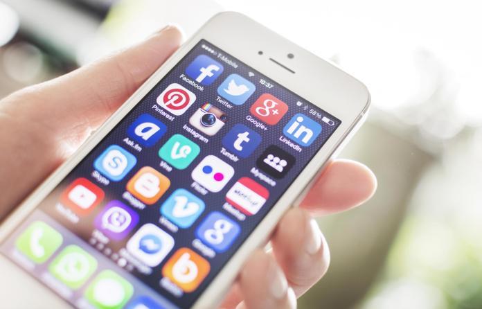 icônes d'application mobile de médias sociaux