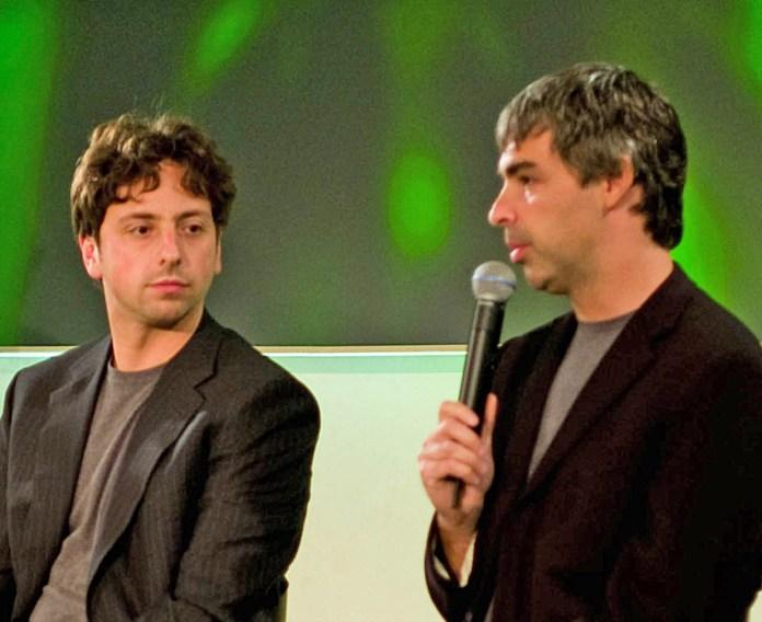 Sergey Brin et Larry Page