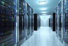 IT server room data center