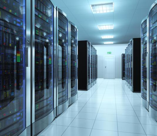 IT server room data center