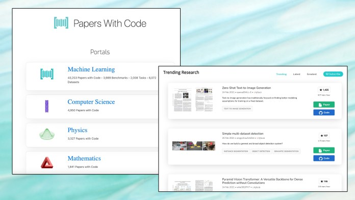 papers with code