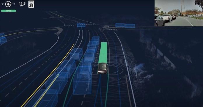 Aurora self-driving technology