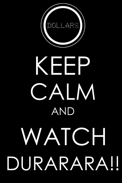 keepcalm drrr this is