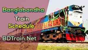 banglabandha express train schedule
