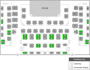 BDT Seating Chart