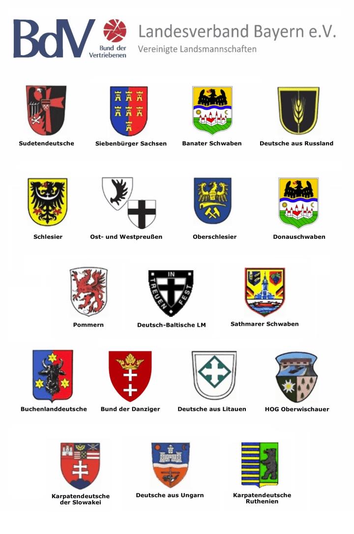 Wappen Übersicht