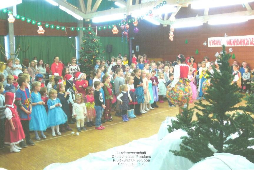 Kinder-Weihnachtsmusical in Schweinfurt