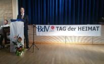 Herr Andreas Lorenz hielt die Festrede und überbrachte auch die besten Grüße und Wünsche vom Bayerischen Landtag.