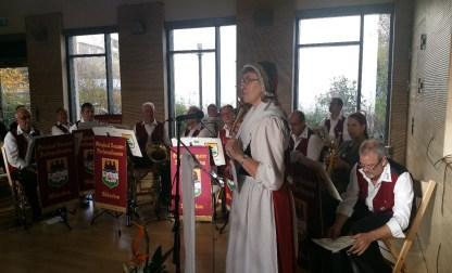 Die Moderation der Feier wurde von Frau Maria Lange übernommen
