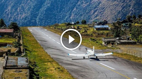 Lukla Airport Nepal The Most Dangerous Airport in the
