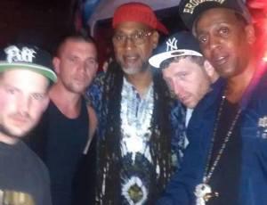 Team O.B.E.Z. w/Kool Herc @ Overspray Show (Staten Island, NY)
