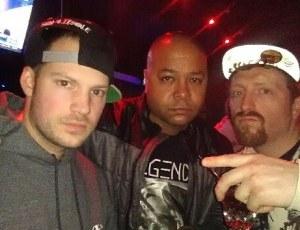 B. Dvine w/Ju Muny & Ahmed from Power 105.1 @ Blackthorn 51 (Queens, NY)