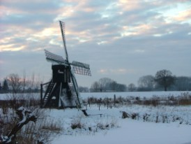 26 december 2010. Dit is geen foto van een schilderij van een Hollandse meester uit de 17de eeuw. Nee, dit is Kerst 2010 in Laag Keppel.
