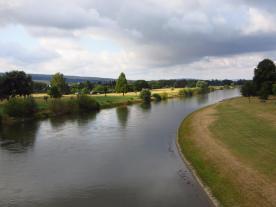 Bij Holzminden steek ik definitief de Weser over op weg naar het oosten.