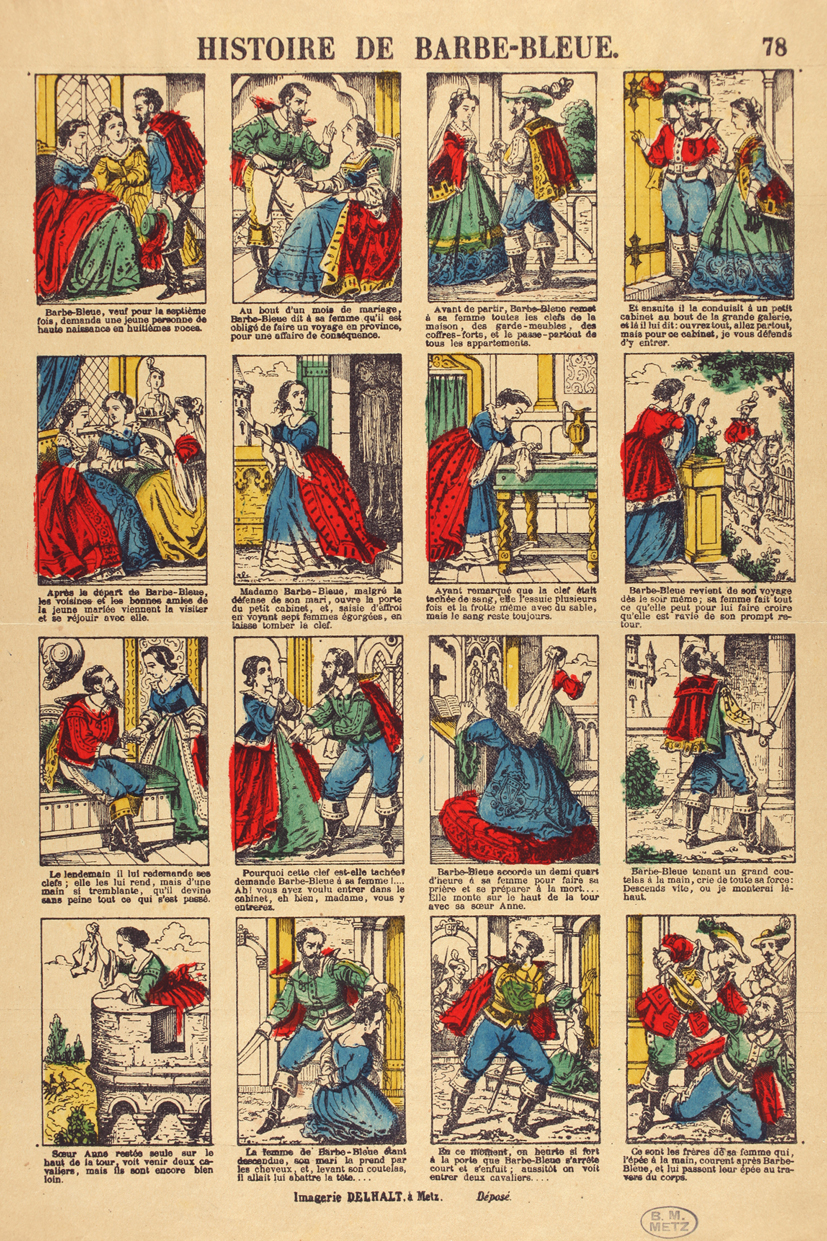lorigine des contes  La Barbe Bleue  par Stphane Duval et Philippe Bonifay  BDZoomcom