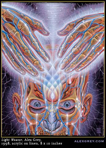 Psychedelic Art Of Alex Grey  Be Amazed