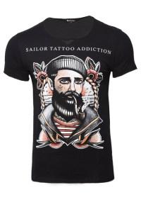 Ανδρικό T-shirt Addiction Black