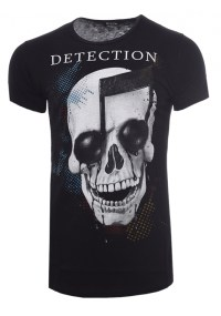 Ανδρικό T-shirt Detection Black