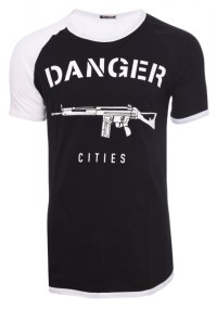 Ανδρικό T-shirt Danger Black