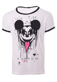 Ανδρικό T-shirt Evil Mickey White