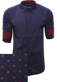 Ανδρικό Πουκάμισο Star Purple