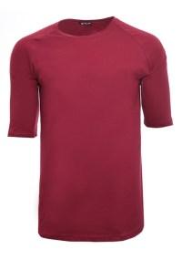 Ανδρικό T-shirt TrouaQar Bordeaux