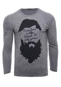 Ανδρική Μπλούζα True D.Grey