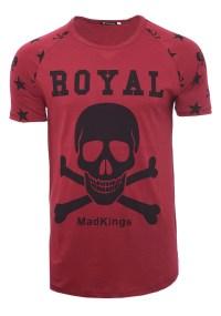 Ανδρικό T-shirt Royal Bordeaux