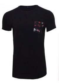 Ανδρικό T-shirt Anker Pocket Black