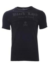 Ανδρικό T-shirt Alley Black