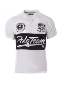 Ανδρικό Polo Team White