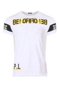 Ανδρικό T-shirt Beat White