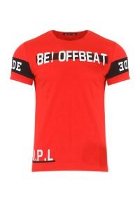 Ανδρικό T-shirt Beat Red