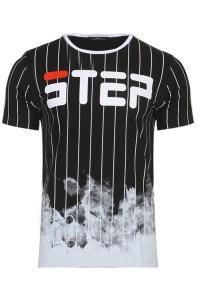 Ανδρικό T-shirt Top Black
