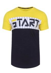 Ανδρικό T-shirt Clone Yellow
