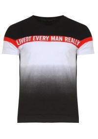 Ανδρικό T-shirt Screen Black
