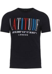 Ανδρικό T-shirt Degrees Black