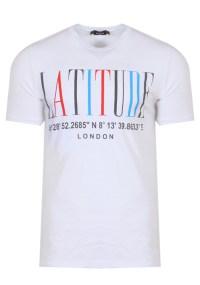 Ανδρικό T-shirt Degrees White
