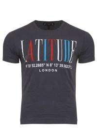 Ανδρικό T-shirt Degrees Grey