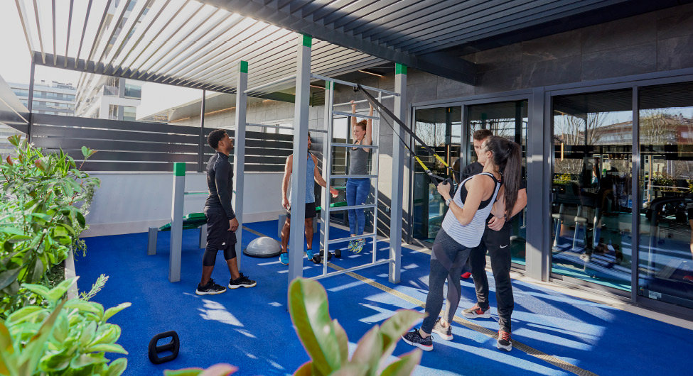 Gym Rental apartments BeCorp in Sant Just Desvern