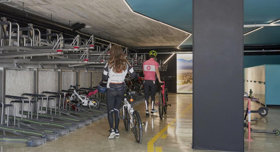 Bike Room Pisos de alquiler BeCorp en Sant Just Desvern