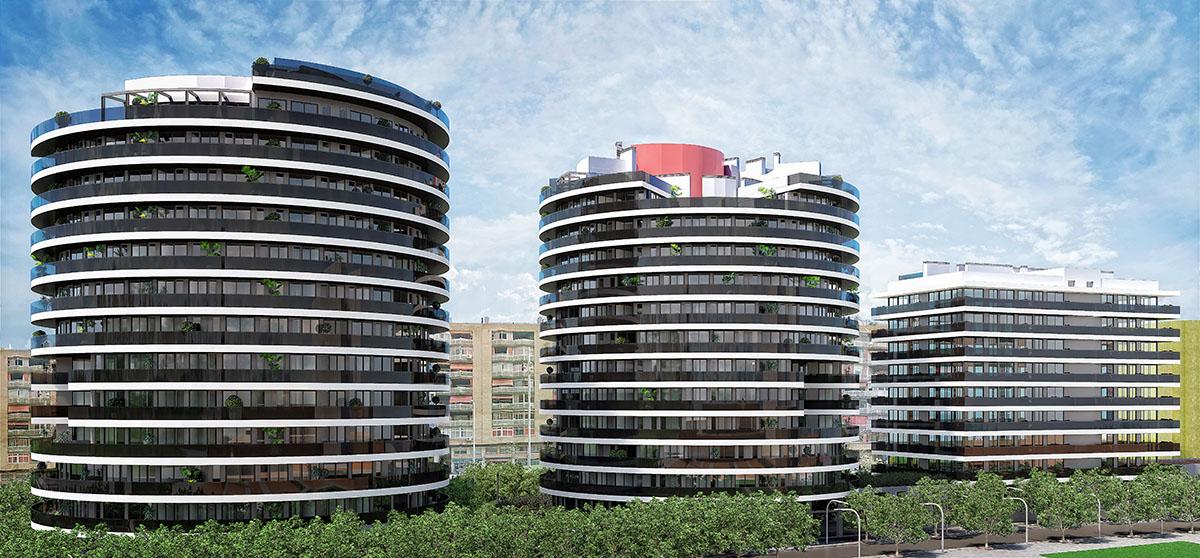 Conjunto de edificios | BeCorp Barcelona - Sants